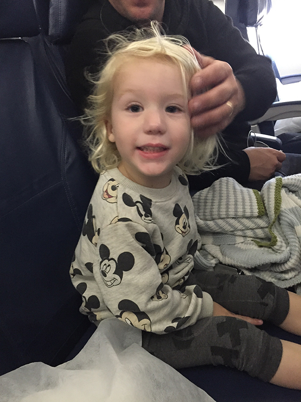 Happy At Takeoff