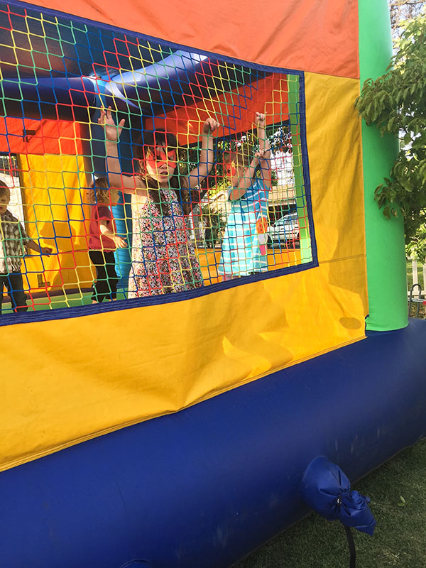 Superheroes in Bouncehouse